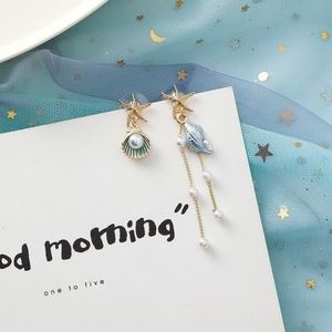 Unique Zone Jewelry - ❤️️NEW UNIQUE Shell Star Handmade Earrings A3